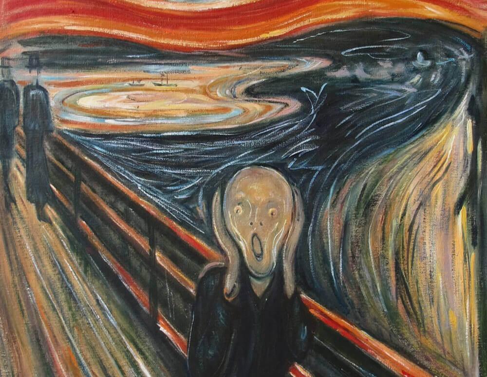 نقّاشی جیغ اثر ادوارد مونش